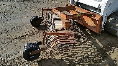 Skid Steer Quick Attach York Rake