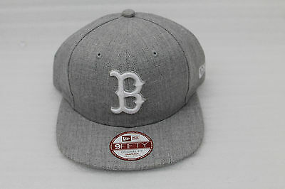NEW ERA Snapback Cap 9 fify League Basic 9 BOSR Boston Sox grau Small-Medium
