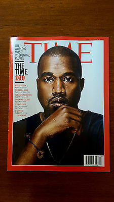 TIME Magazine - back Issue April 27 / 4 May 2016 'The TIME 100' Kanye West Cover