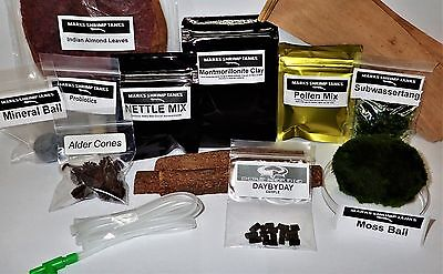 Shrimp Starter Kit (Contains 90%of the things required to keep and breed shrimp)
