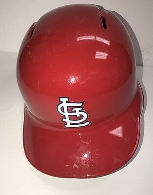 Stephen Piscotty St. Louis Cardinals Game Used 2016 Batting Helmet