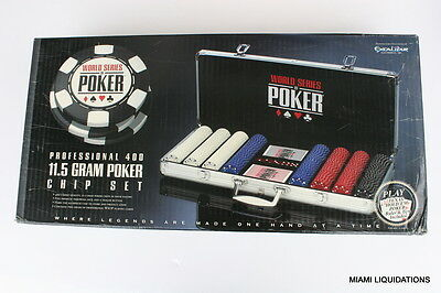 World Series of Poker 2064A-WSOP-2 Professional 400 11.5 Gram Chip Set Case