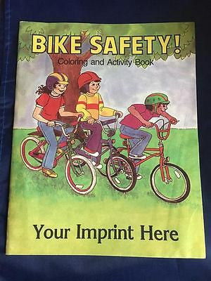 1989 Bike Safety Coloring And Activity Book