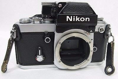Vintage Nikon F2 35mm SLR Film Camera Body & DP-11