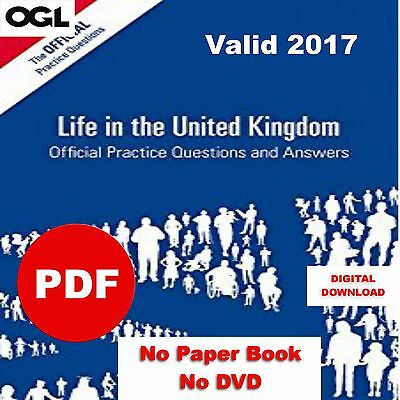 ✔✔Life in the UK - 3rd Edition✔✔ Practice Questions 2017 PDF