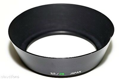 49mm Metal Hood for OLYMPUS OM ZUIKO Lens F3.5/28mm or Any Wide Angle Lens