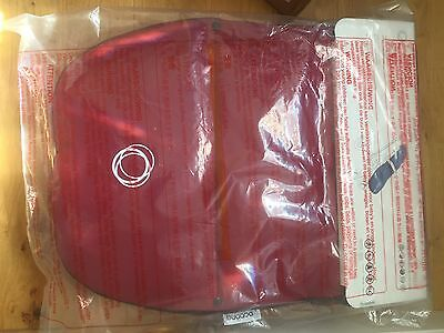 Brand New Ruby Red Bugaboo Footmuff Newest Style Velcro