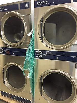 Dexter Stack Dryer For Coin Laundry Laundromat
