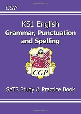 KS1 English Grammar, Punctuation & Spelling Study & Practice Boo... by CGP Books