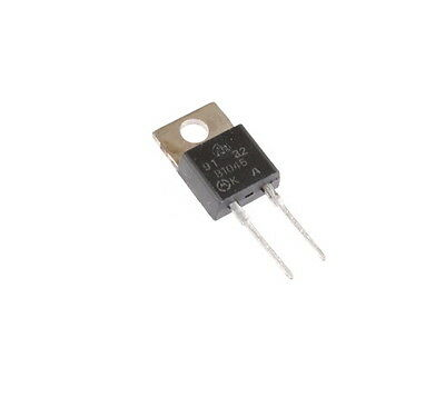 20 pcs. Switchmode SCHOTTKY Barrier Power Rectifier 10A 45 Volts TO-220AC 45V