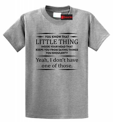 Funny Party T Shirt You Know That Thing In Your Head College Gift Tee S-5XL