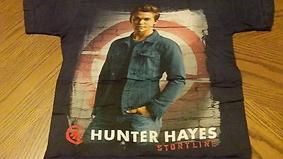 Hunter Hayes Storyline Tour Concert T Shirt Adult Small New w/o Tag Official