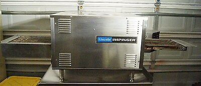 Lincoln Impinger 1921-4 Electric Pizza & Sub Conveyor Oven 1920 Series 208V
