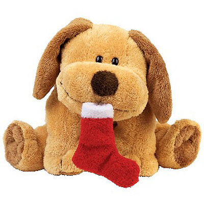 TY Pluffies - GOODIES the Dog (8.5 inch) - MWMTs Stuffed Toy