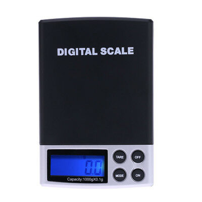 1000g/0.1g Digital Weight Balance Libra Battery Kitchen Scale Jewelry Food Diet
