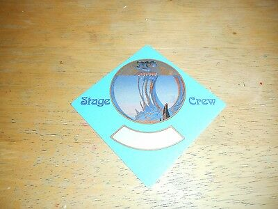 Yes - Official Unused Cloth Pass - Union Tour - 1991-92