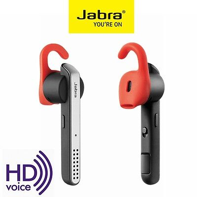Bluetooth Headset Jabra Stealth Wireless 4.0 Stereo Headphone IPhone HD Voice