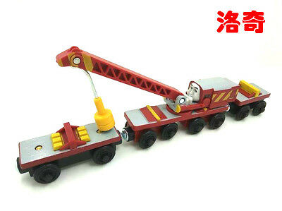 RARE NEW style WOODEN magnetic THOMAS friend The Tank Engine Train ROCKY &TRUCK