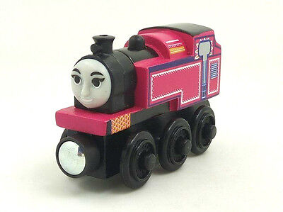 RARE NEW style WOODEN magnetic THOMAS friend The Tank Engine Train ASHIMA