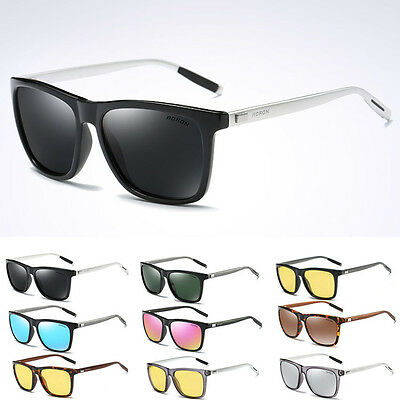 Polarized Mens Vintage Driving Goggles Outdoor Cycling Sunglasses Glasses UV400