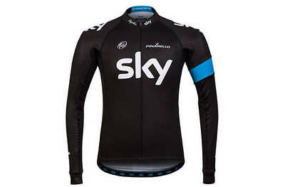 Rapha Team Sky Long Sleeve Black Replica Jersey. Various Sizes. BNWT.