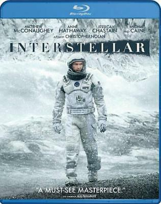 Interstellar New Blu-Ray Disc
