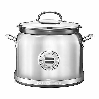 Multi Cooker Slow Cook 12 Settings KitchenAid 5KMC4241BSX 4.25L Stainless Steel