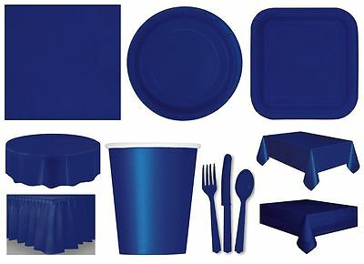 TRUE NAVY Party Tableware Disposable Birthday Supplies Event Decorations