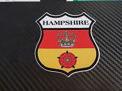 2 X QTY KENT SHIELD COUNTY FLAG DECAL PRINTED STICKER CHOICE OF SIZES