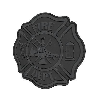 fire fighter department PVC subdued ACU morale aufnäher hook-and-loop patch