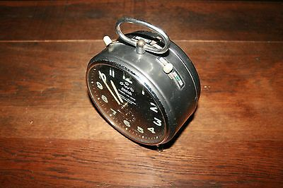 Vintage 60's Reveil, Horloge Avec Carillon Wehrle Three-In-One Made In Germany