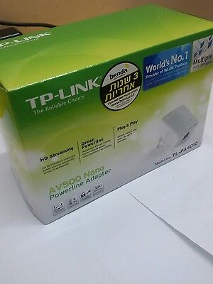 TP-Link  TL-PA4010 AV500 Nano Powerline Adapter 300 Meters  EU Plug