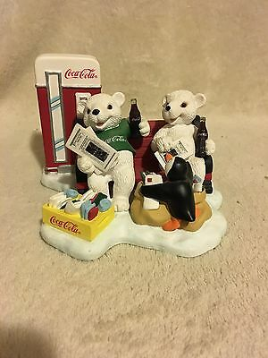 """Coca Cola Heritage Coll. """"Passing the Day in a Special Way"""" figureine"""