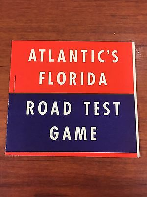 Vintage 1930's Atlantic White Flash Gas Oil Collectible Advertising Game Booklet