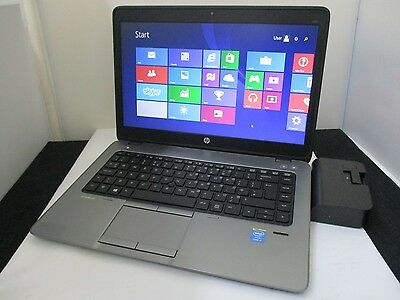 HP Compaq Elitebook 840 G1 i5 4200U 4TH GEN 1.60GHz 8GB, 500GB  Webcam Laptop
