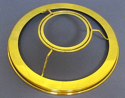 New # 2 Brass Plated 7 inch Shade Ring Holder