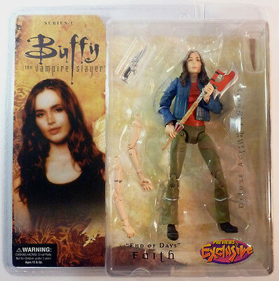 Btvs Deluxe Faith End Of Days 6 Inches Figure