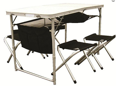 Sunncamp Picnic Table With 4 Stools