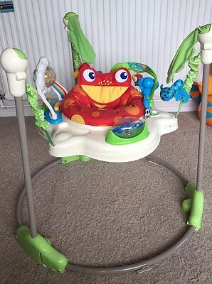Fisher-Price Toddler Toys, Rainforest Jumperoo Swing Rocker, Baby Bouncer Chair