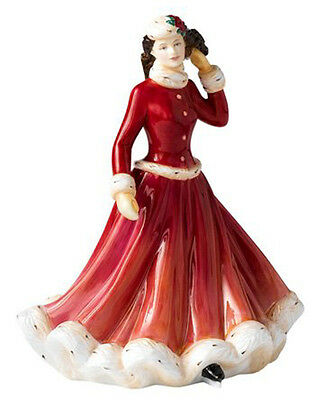 Royal Doulton Pretty Ladies Winter Fun Christmas Holiday Figurine HN-5258 NEW