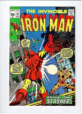 Iron-Man # 41 Higher Grade Copy 1971 Marvel