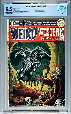Weird Western Tales #12 CBCS 8.5 OWW 1st Issue 3rd Jonah Hex Neal Adams Key