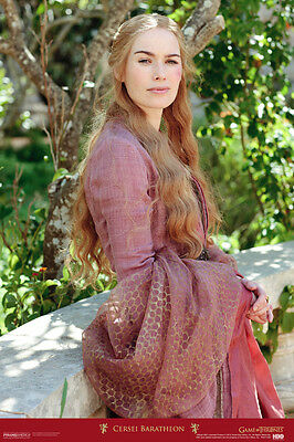 Game of Thrones Cersei Baratheon HBO Television Poster 12x18 inch