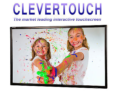 """Clevertouch S Series 55"""" Interactive Hd Flat Screen Led Panel School Monitor"""