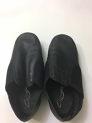 Capezio Black Jazz Shoes 9M E series Slip On EJ2