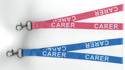 1  x CARER Safety Breakaway Lanyard - Two Colours Available - Free UK P&P
