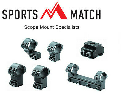 "Sportsmatch UK Scope Mounts From 1"" to 34mm"