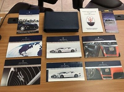 Maserati Granturismo 2011 Owners Manual Books, OEM / Free Shipping