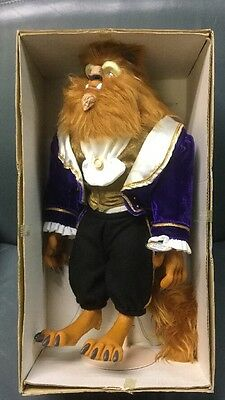 "VERY RARE!! The Walt Disney Co. - Beauty and the Beast - 14"" Beast Doll By Dakin"