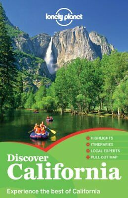Lonely Planet Discover California (Travel Guide) by Vlahides, John A Book The
